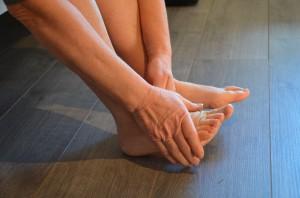 Atelier réhydratation des pieds
